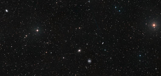 Background image of the Universe
